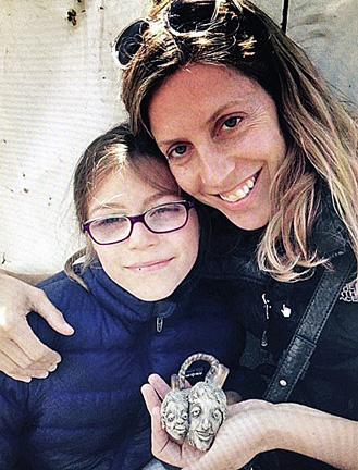 Sarah Brown and Daughter