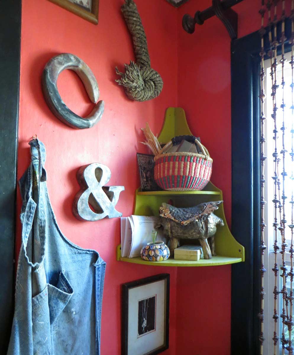 Liz Crain Ceramics Studio Corner