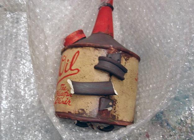 Broken Vitri-Oil Handle