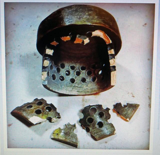 Pieces of Broken Incinerator Sculpture Cap