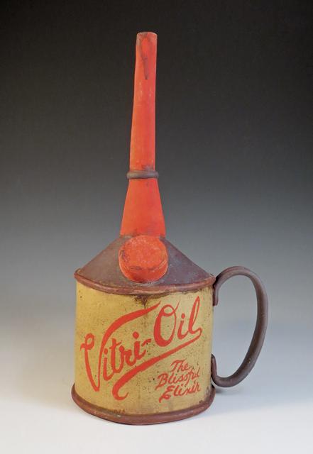Ceramic Vitri-Oil Tea Can