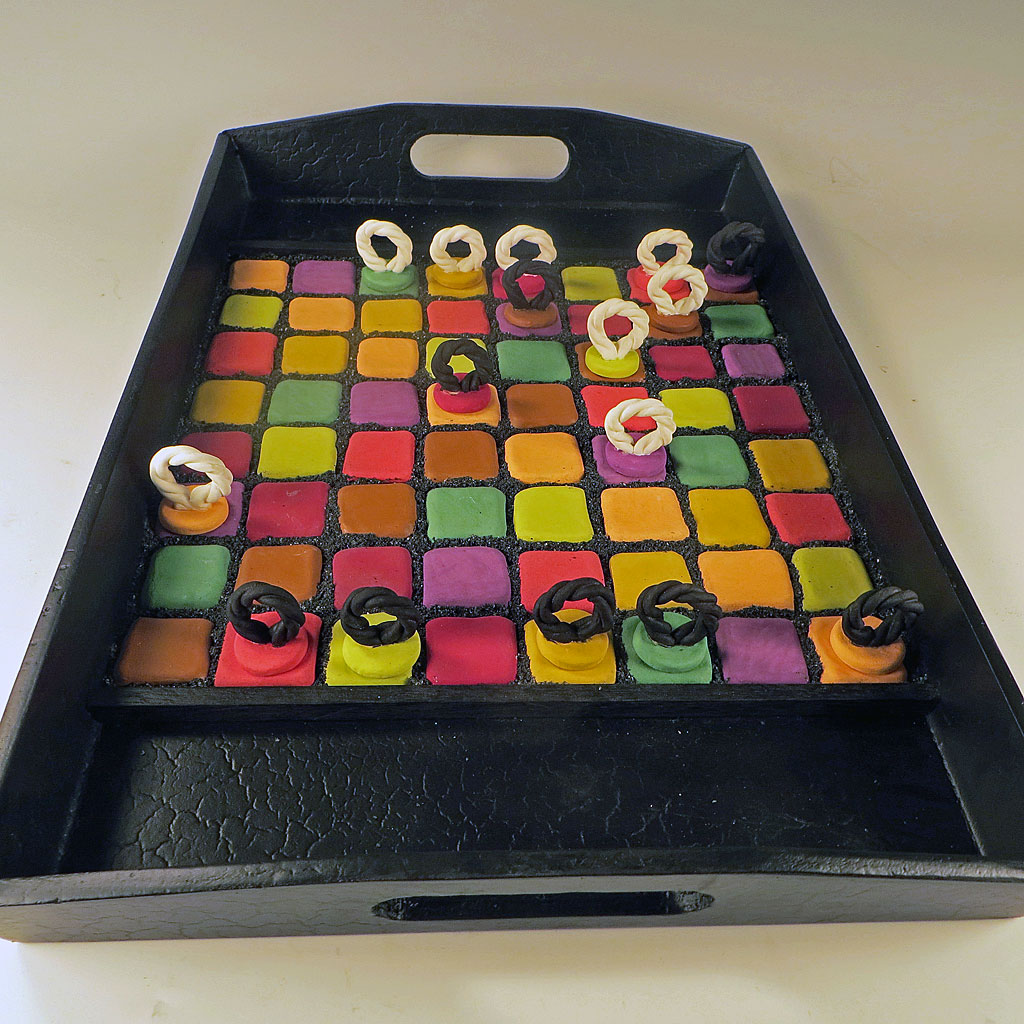 Ceramic Board Game Color Theory