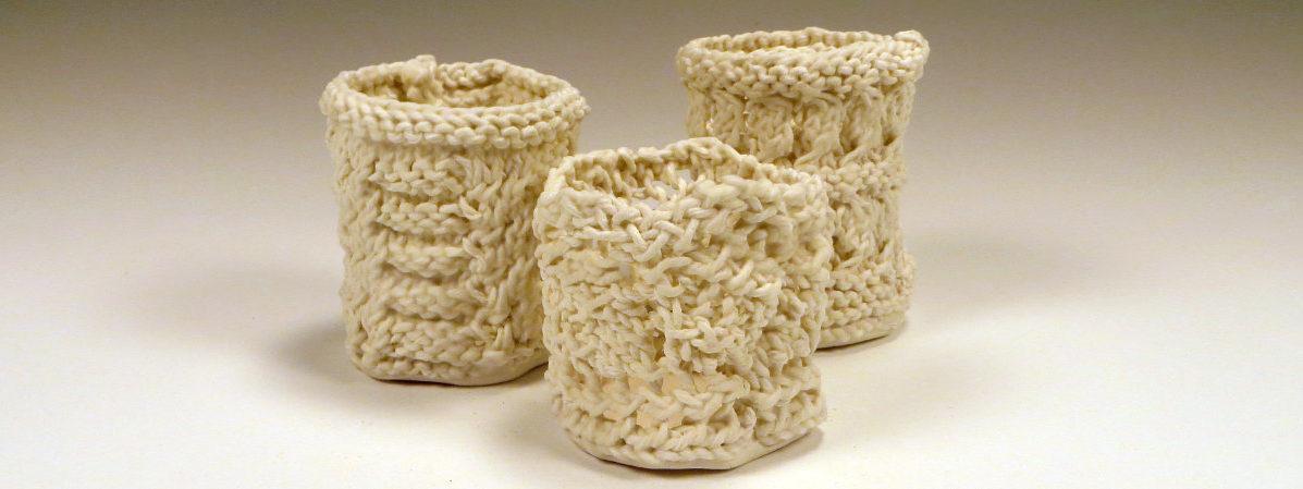 Knitted Porcelains - Liz Crain Ceramics