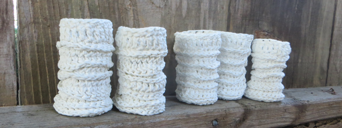 Knitted Porcelains On the Fence - Liz Crain Ceramics