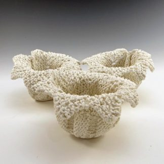 Sawtooth Lace Porcelain Cup