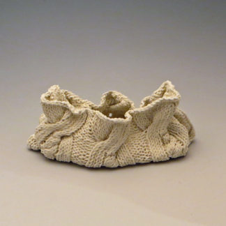 Knitted Porcelain Long Bag