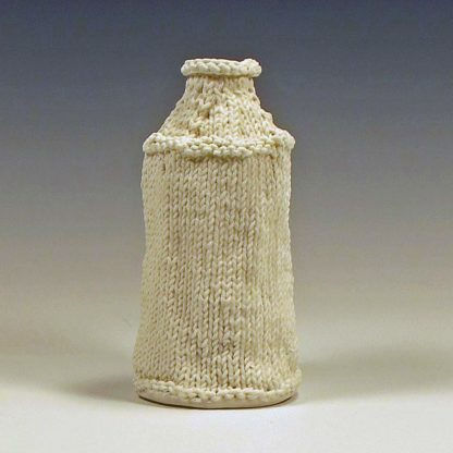 knitted porcelain conetop can