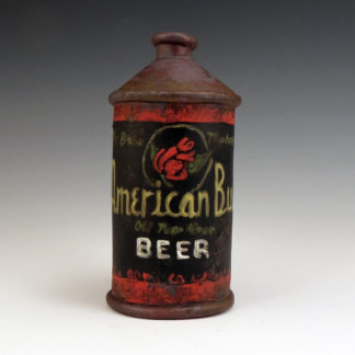 ceramic beer can