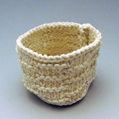 knitted porcelain small cup
