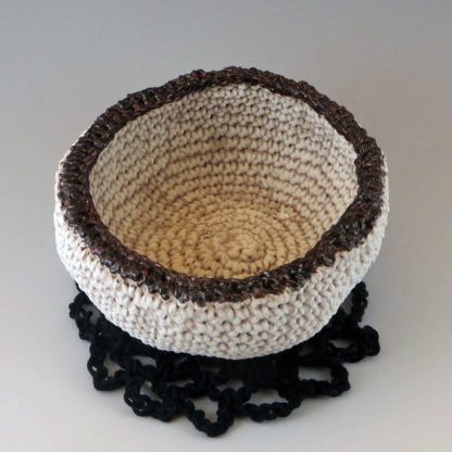 bowl and doily